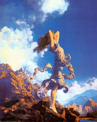 Ecstasy Maxfield Parrish